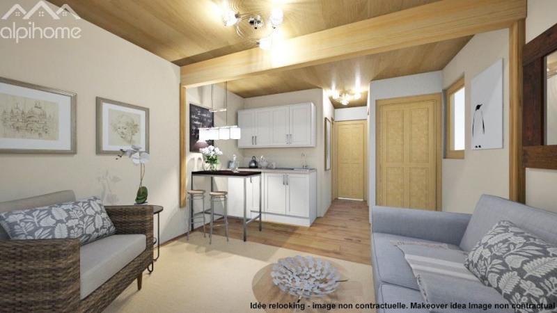 Vente appartement Saint gervais les bains 85000€ - Photo 2