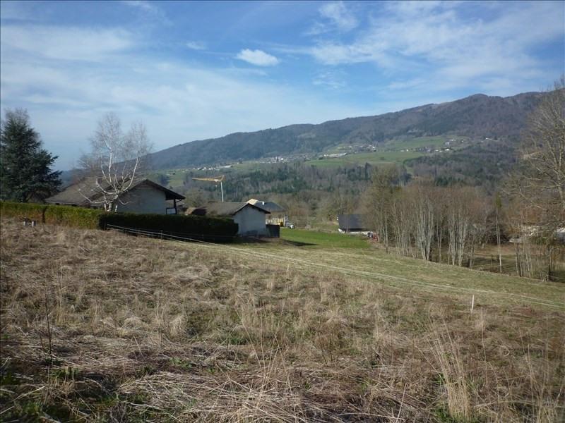 Venta  terreno Menthonnex en bornes 159000€ - Fotografía 3