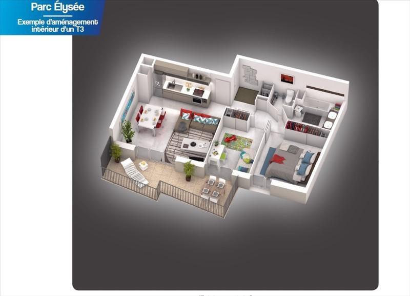 Vente appartement Castelnau le lez 198000€ - Photo 3