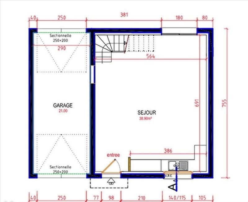 Vente maison / villa Boissy le cutte 242000€ - Photo 1