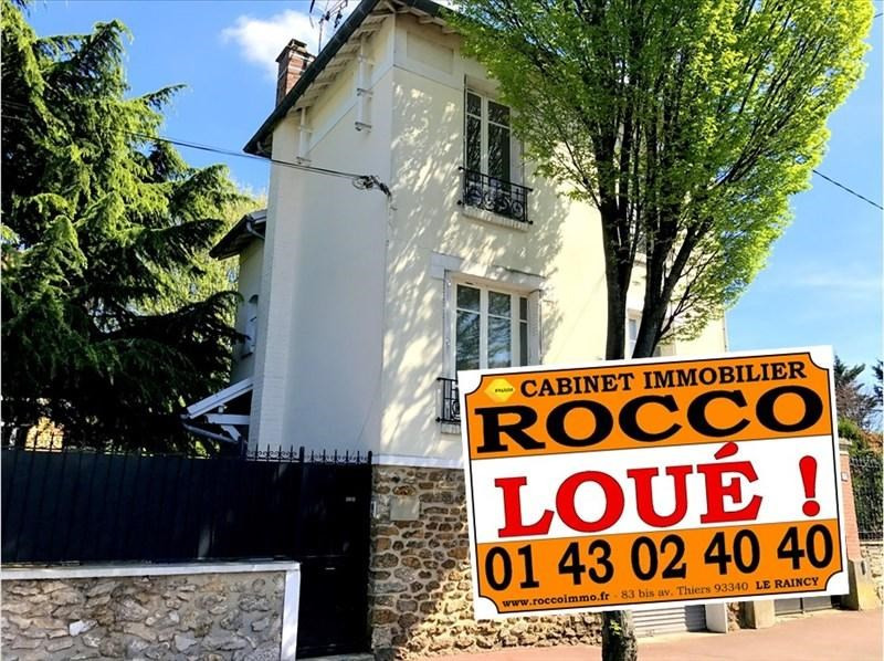 Rental apartment Le raincy 1290€ +CH - Picture 1