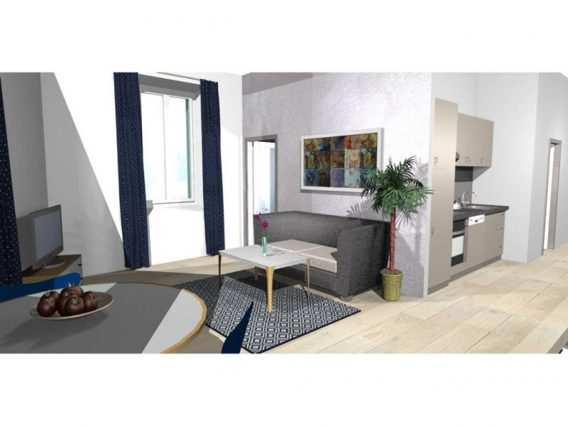 Sale apartment Nice 290 000€ - Picture 1