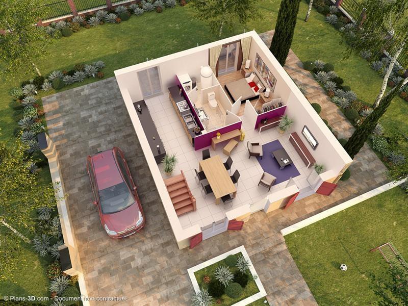 Maison  4 pièces + Terrain Changis-sur-Marne par MAISONS PIERRE