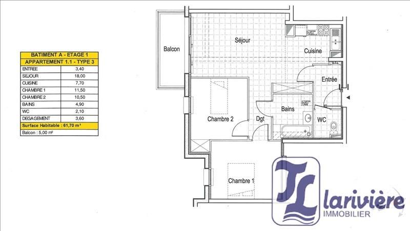 Sale apartment Wimereux 248000€ - Picture 2