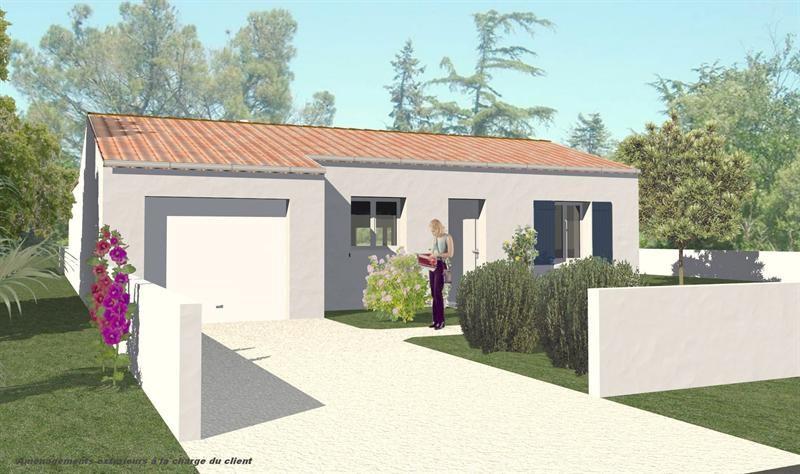 Maison  4 pièces + Terrain 336 m² Marsilly (17137) par LES ARTISANS CONSTR CHARENTAIS