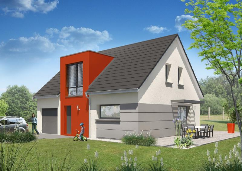 """Modèle de maison  """"Modèle de maison 4 pièces"""" à partir de 4 pièces Côte-d'Or par MAISONS ROCBRUNE"""