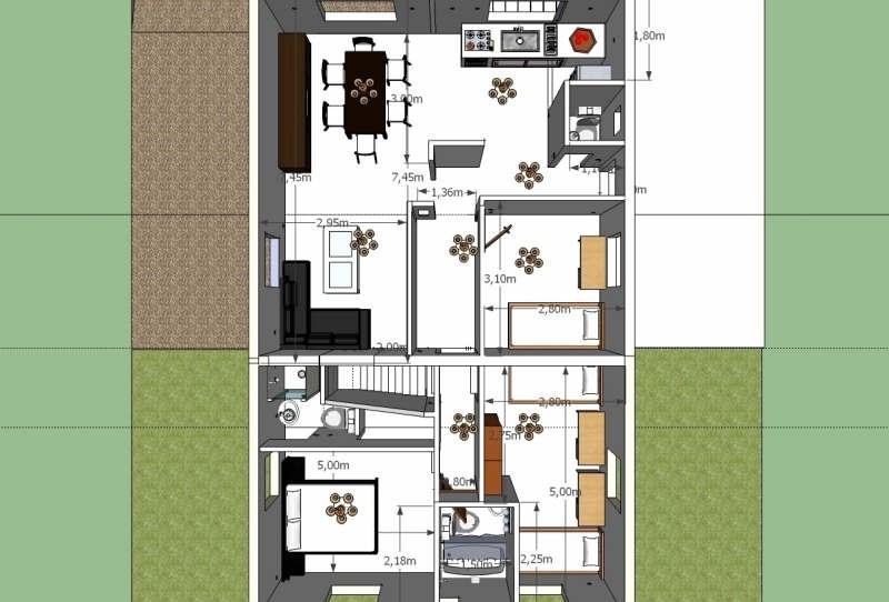 Sale house / villa Venette 198000€ - Picture 2