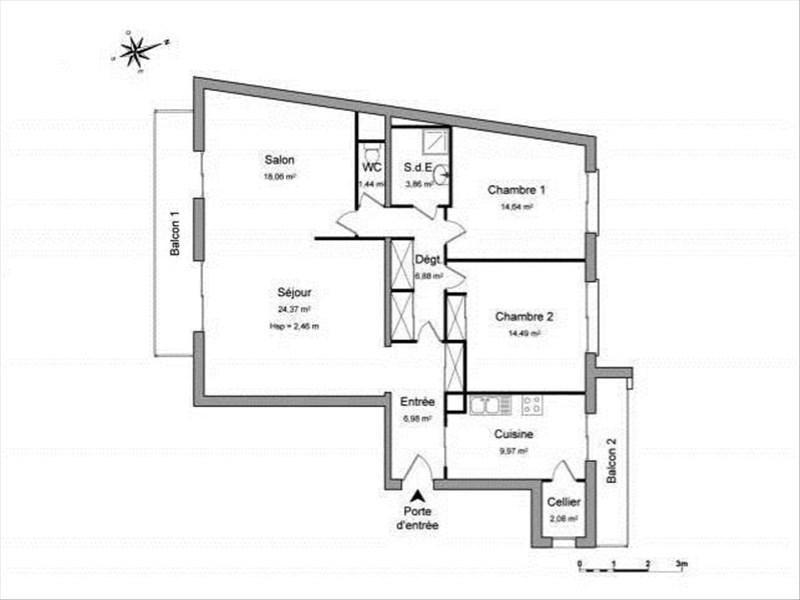 Rental apartment Toulon 880€ CC - Picture 8
