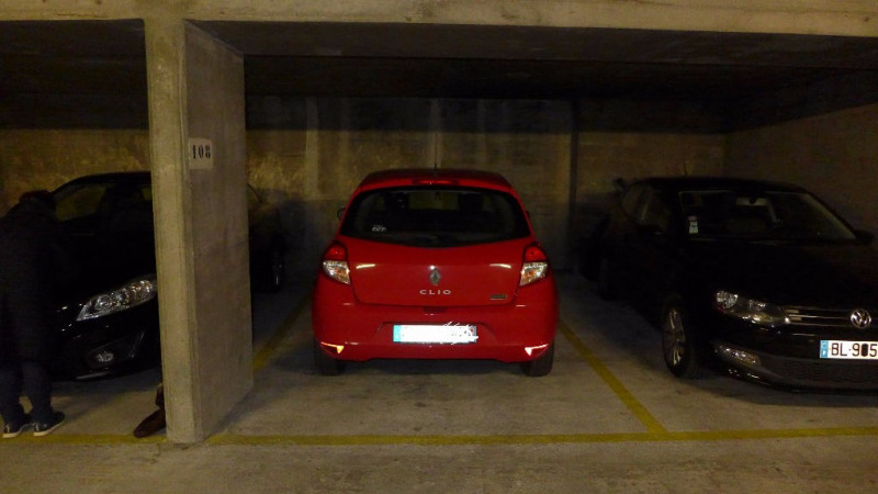 Verkoop  parkeergelegenheid Paris 15ème 18000€ - Foto 1