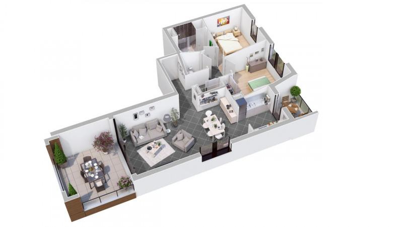 Vente de prestige appartement Valence 246100€ - Photo 2