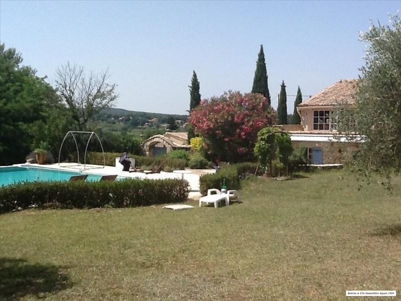 Vente de prestige maison / villa Goudargues 580000€ - Photo 10