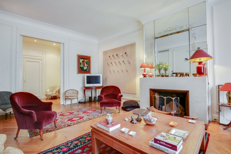 Location appartement Paris 16ème 3 500€ CC - Photo 1