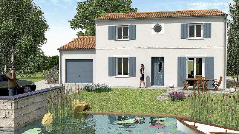 """Modèle de maison  """"Atypique et surprenante"""" à partir de 4 pièces Vendée par MAISONS DU MARAIS - AGENCE DE NIORT"""