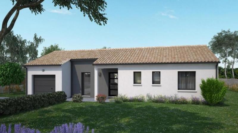 Maison  4 pièces + Terrain 1500 m² Montamisé par Maisons Ericlor