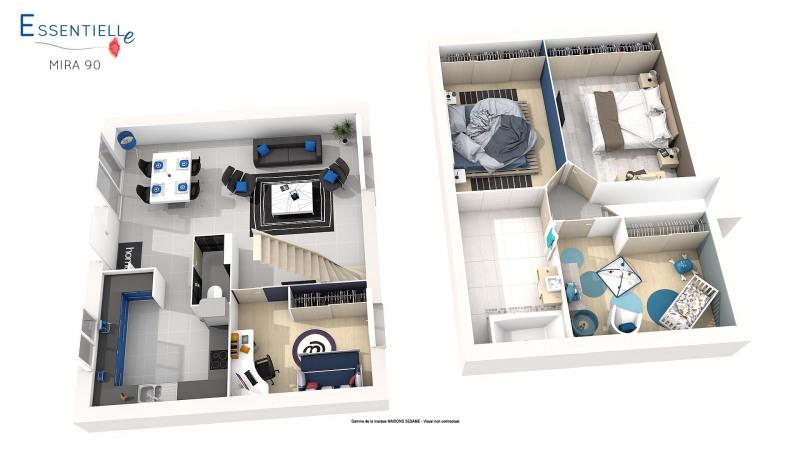 Maison  6 pièces + Terrain 450 m² Chaumes-en-Brie par MAISONS SESAME