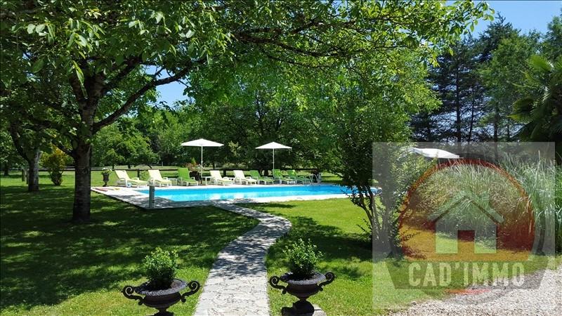 Vente de prestige maison / villa St germain et mons 551000€ - Photo 4