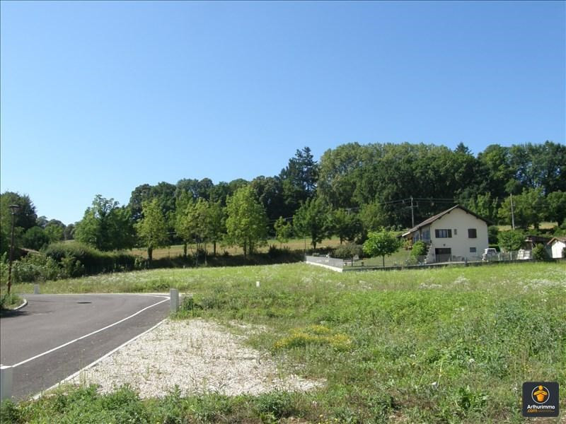 Vente terrain Morestel 55 000€ - Photo 1
