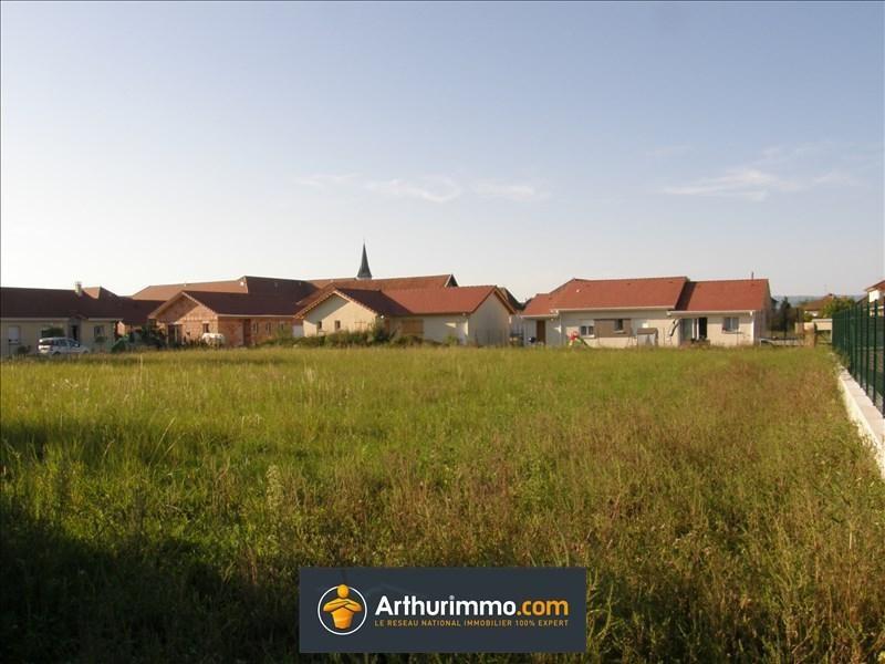 Vente terrain Morestel 60500€ - Photo 1