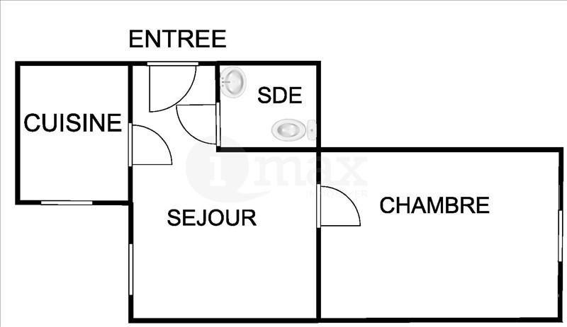 Vente appartement Asnieres sur seine 175000€ - Photo 1