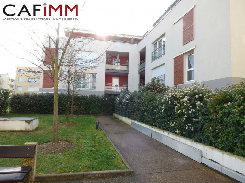 Meyzieu centre T2 42m² balcon garage piscine