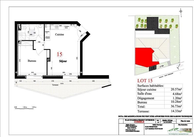 Produit d'investissement appartement Vigneux sur seine 132000€ - Photo 2