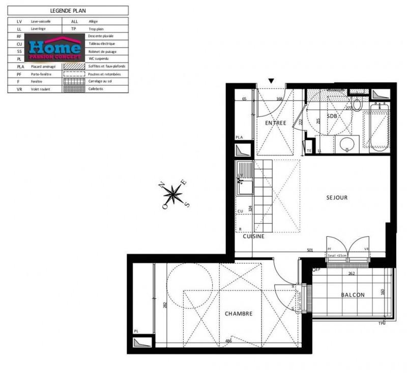 Sale apartment Rueil malmaison 355000€ - Picture 5