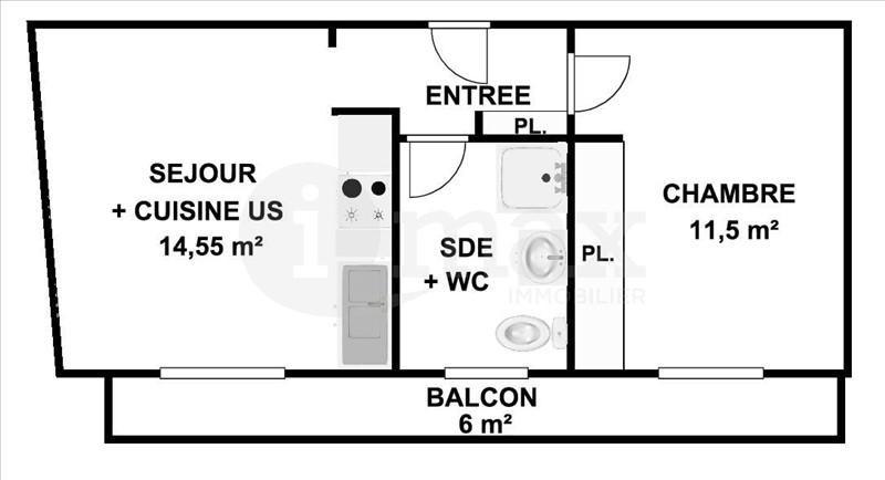 Sale apartment Courbevoie 240000€ - Picture 2