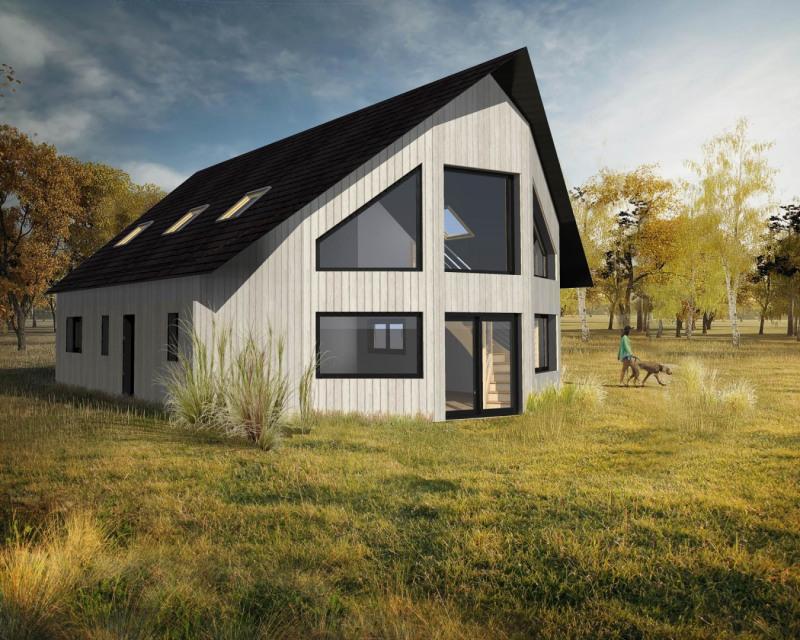 """Modèle de maison  """"Maison bois haut de gamme"""" à partir de 6 pièces Loire-Atlantique par LA MAISON DE CEDRE - AGENCE GRAND OUEST"""
