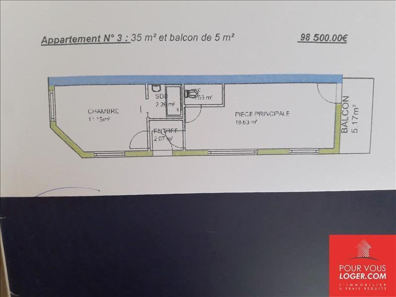Vente appartement Berck 98500€ - Photo 3