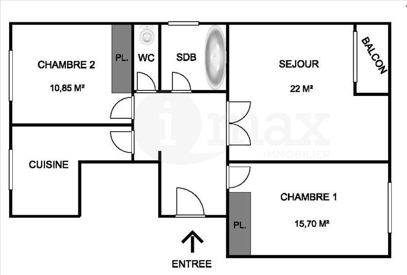 Sale apartment Asnieres sur seine 370000€ - Picture 4