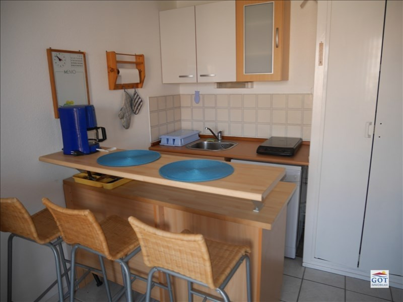 Sale apartment Le barcares 70 500€ - Picture 1