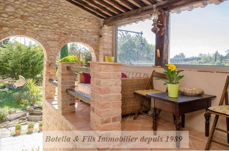 Immobile residenziali di prestigio casa Barjac 572000€ - Fotografia 6