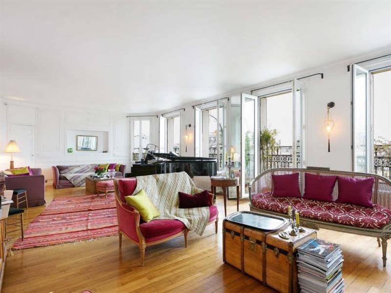 Verkoop van prestige  appartement Paris 8ème 3150000€ - Foto 2