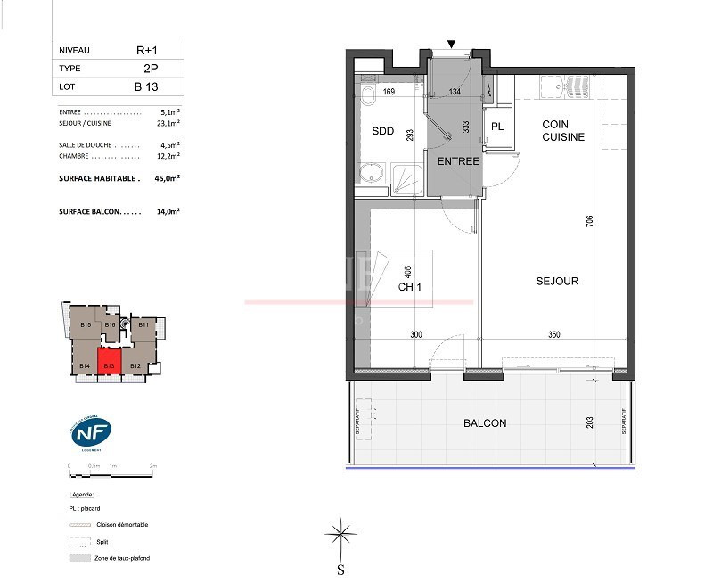 Vente de prestige appartement Antibes 299000€ - Photo 4