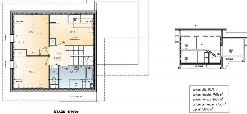 Sale house / villa Viuz-la-chiésaz 373000€ - Picture 4