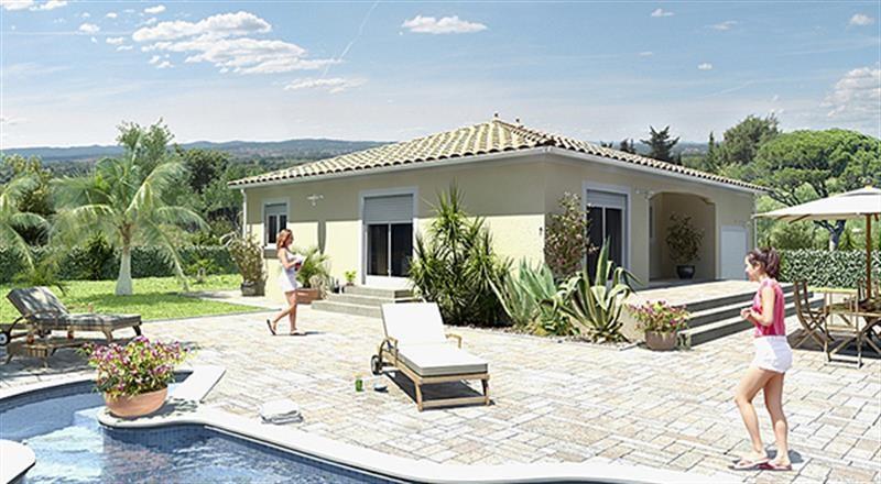 Maison  4 pièces + Terrain 936 m² Sumène par MAISONS GUITARD