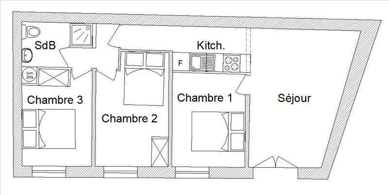 Venta  casa St pee sur nivelle 249000€ - Fotografía 2