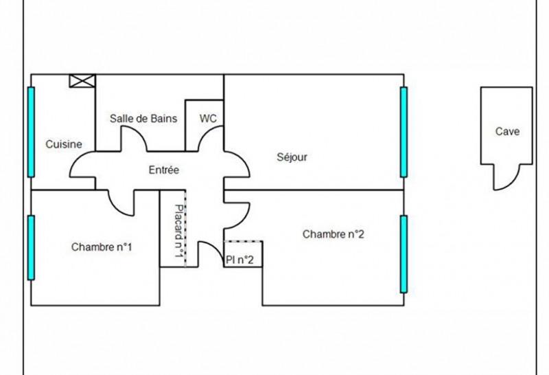 Sale apartment Chatou 249500€ - Picture 2