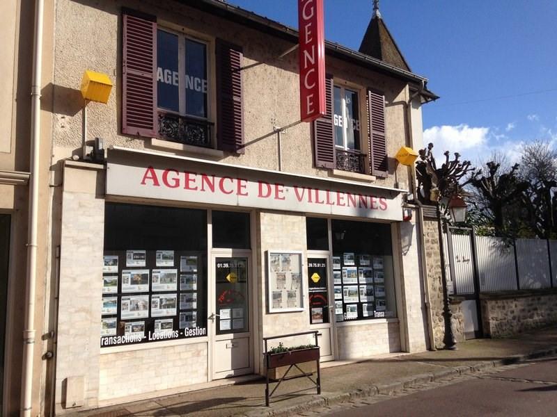 Vente terrain Villennes sur seine 252000€ - Photo 1