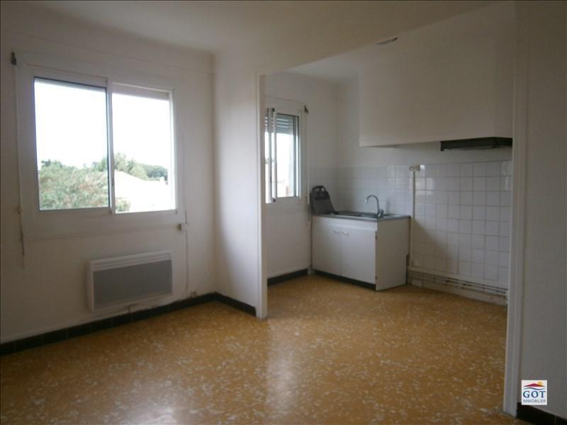 Verhuren  appartement Villelongue de la salanque 550€ CC - Foto 1