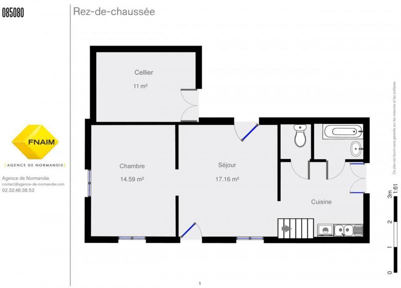 Sale house / villa La ferte-frenel 75000€ - Picture 7