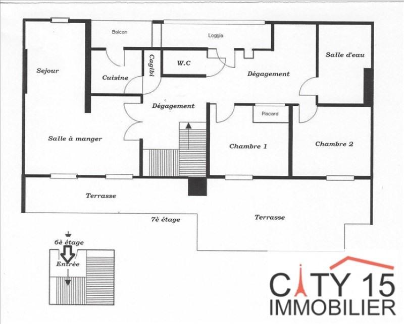 Investeringsproduct  appartement Paris 15ème 580000€ - Foto 4