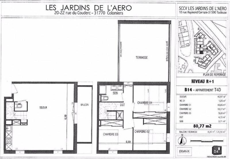 Location appartement Colomiers 890€ CC - Photo 9