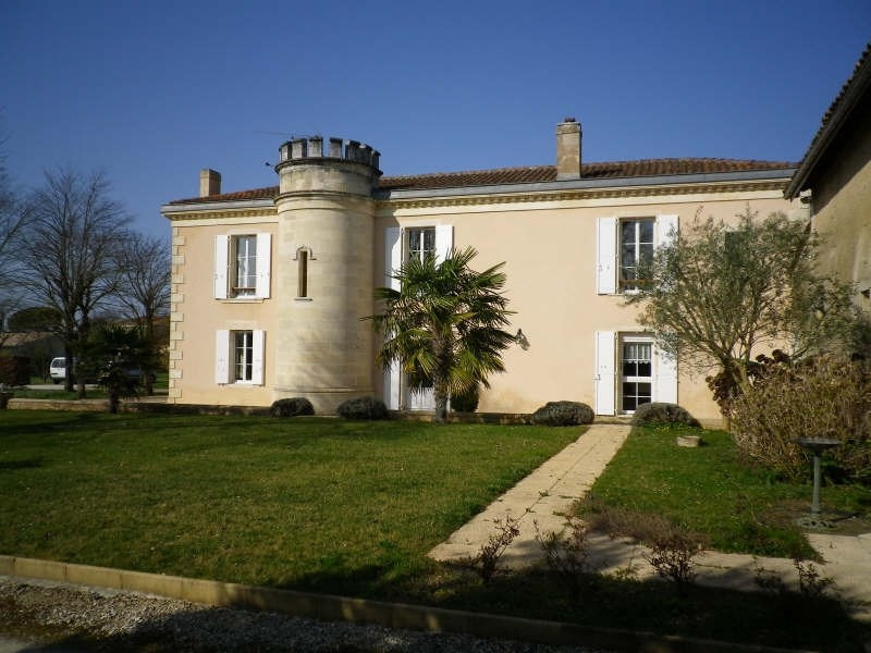 Deluxe sale house / villa Blaye 525 000€ - Picture 1