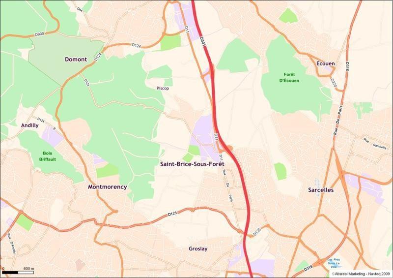 Location Local d'activités / Entrepôt Saint-Brice-sous-Forêt 0