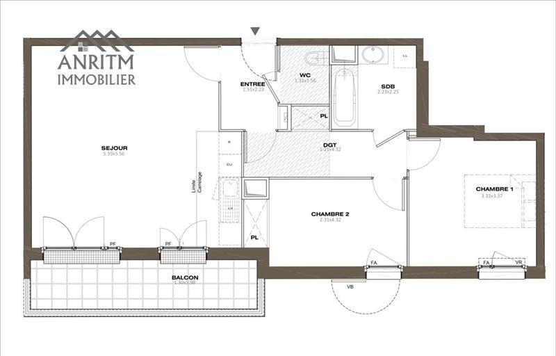 Sale apartment Plaisir 249000€ - Picture 3