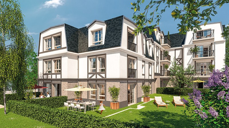 Les r sidences du golf programme immobilier neuf garches for Immobilier neuf idf