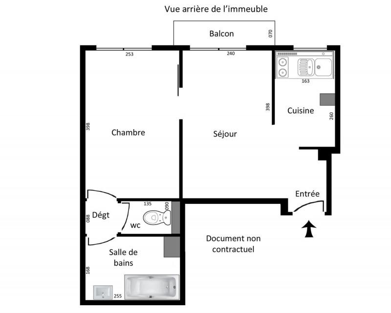 Location appartement Paris 15ème 996€ CC - Photo 3