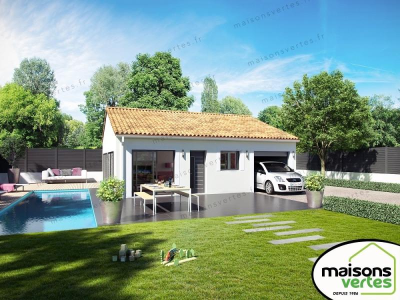 Maison  4 pièces + Terrain 352 m² Béziers par MAISONS VERTES DE L'AUDE - 34420 VILLENEUVE LES BEZIER