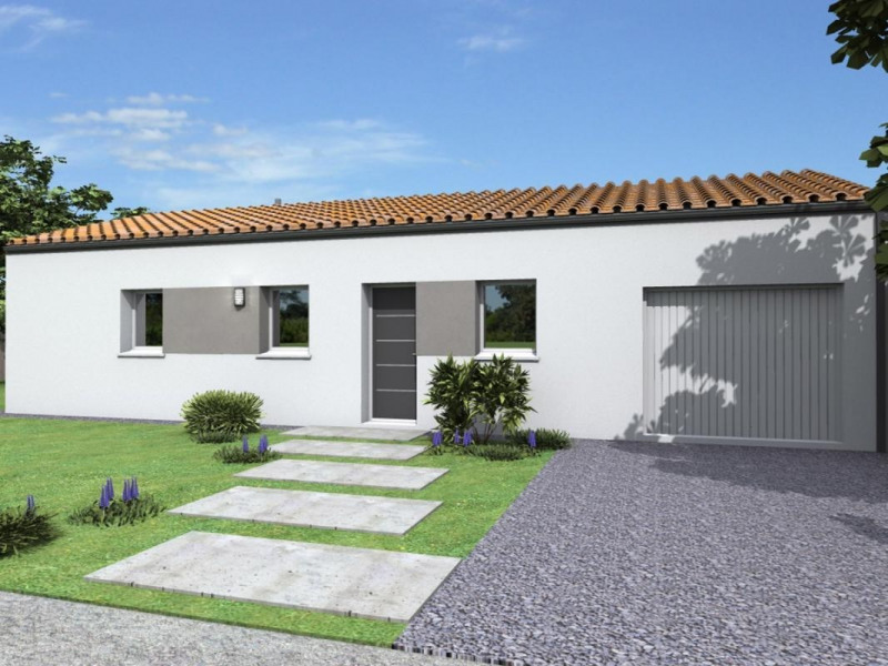 Maison  5 pièces + Terrain 705 m² Les Pineaux par ALLIANCE CONSTRUCTION LA ROCHE SUR YON